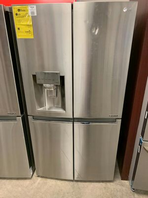 New LG Counter Depth Quad Door Refrigerator..1yr Manufacturers Warranty..:Paradise Appliance for Sale in Chandler, AZ