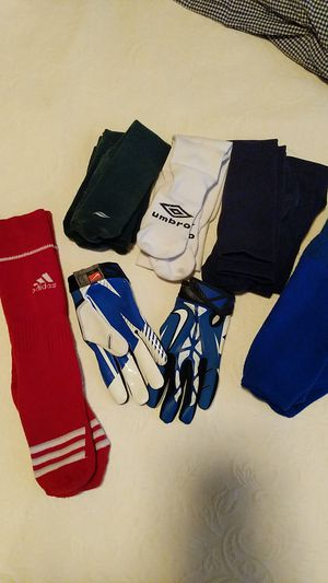 Youth sports socks & Football gloves for Sale in Chandler, AZ