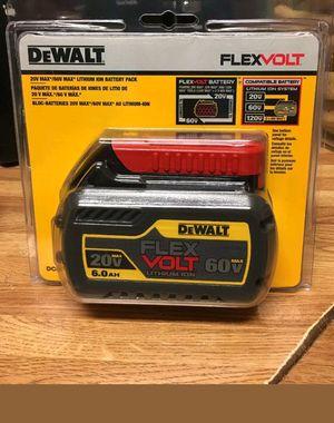 1 Dewalt bateria flexvolt 60v for Sale in Manassas Park, VA