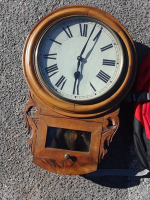 Antique clock with key for Sale in Denver, CO