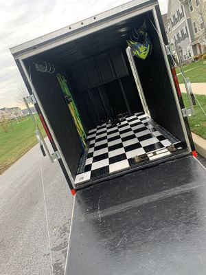 2020 V-Front Unclosed Trailer 6x12 for Sale in Parkesburg, PA