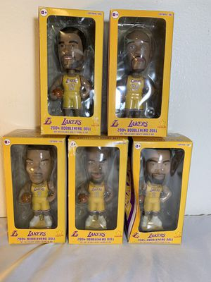 Lakers lineup bobble head doll 2004 for Sale in Chino, CA