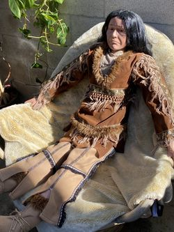 Duck house Porcelain Native American Doll for Sale in Lakewood,  CA