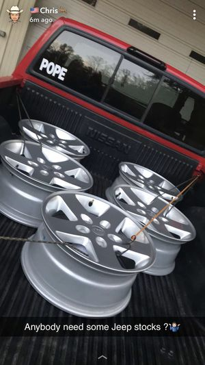 Jeep wheels for Sale in Kernersville, NC