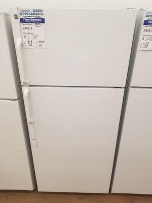 White GE refrigerator Affordable182 for Sale in Denver, CO
