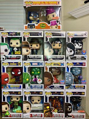 Funko Marvel/DC Funko Pops for Sale in El Paso, TX
