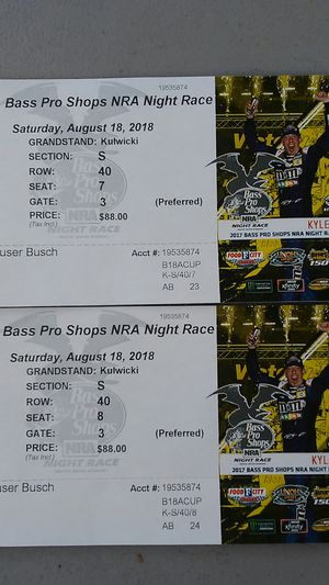 Nascar Tickets for Sale in Johnson City, TN