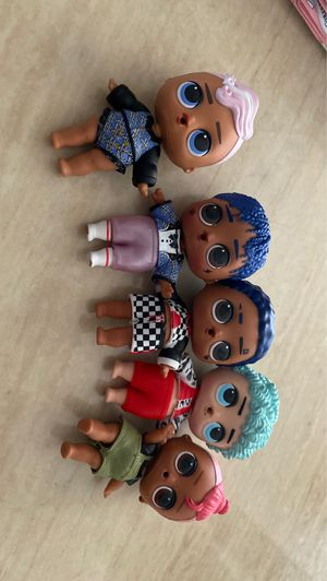 Boy LOLs Dolls for Sale in Lemoore, CA