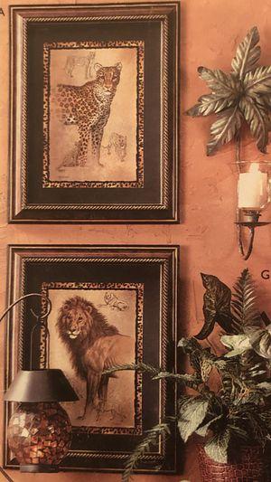 """Home 🏠 interior """" solo se BENDEN Los (2 cuadros del Tigre 🐅 for Sale in Los Angeles, CA"""