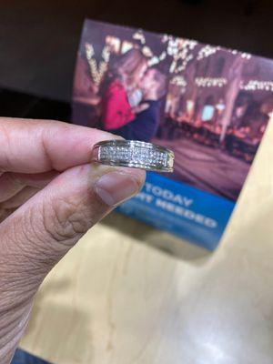 Silver diamond for Sale in Chesapeake, VA