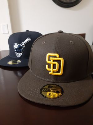 Padres Brown and Gold / Navy Friar / Caps for Sale in Chula Vista, CA