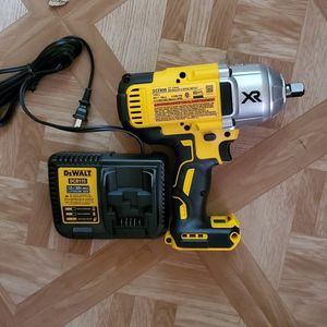 DEWALT 20-Volt Max XR Lithium-Ion 1/2 in. Cordless Impact Wrench Kit with Detent Pin Anvil (Tool-Only & Charger) No Battery( Firm price ) for Sale in Dumfries, VA