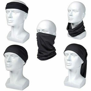Pack of 6pcs MultiUse UltraThin NeckGaiter FaceMask Scarf for Sale in Chula Vista, CA