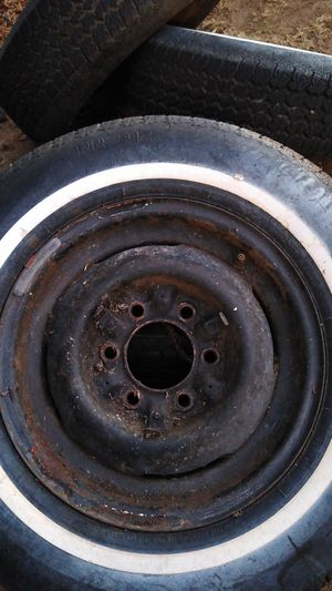 205/75/15 Used Tires with 6 Lug Rims for Sale in Sanger, CA