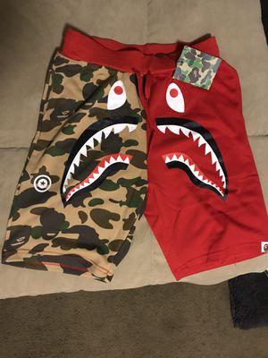 Bape shorts $50 for Sale in Fresno, CA