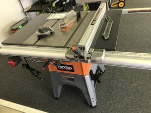 "Ridgid 10"" cast iron table saw for Sale in Atlanta, GA"