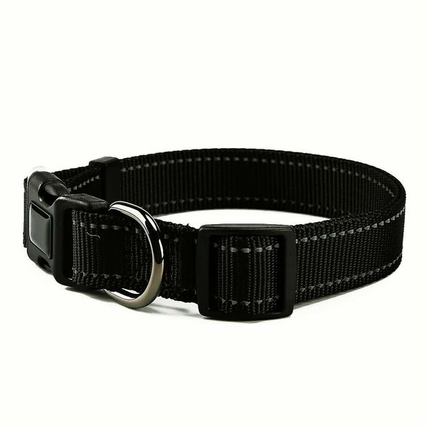 NEW!! Black Bungee Leash and Collar Set