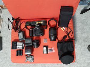 D90 - DSLR Camera Kit for Sale in Minneapolis, MN