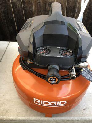 RIDGID 6 Gal. Portable Electric Pancake Air Compressor for Sale in La Habra, CA