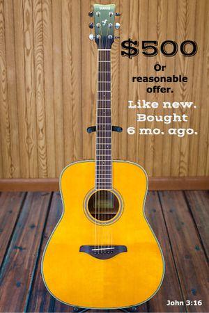 Yamaha FG-TA Transacoustic Dreadnought A-E Guitar for Sale in Lubbock, TX