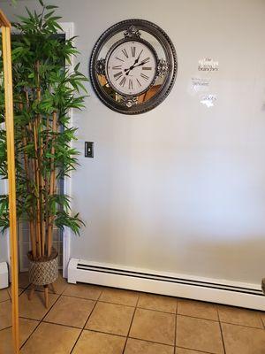 Wall beautiful mirror clock for Sale in Cranston, RI