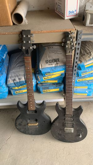 Electric guitars for parts for Sale in Garden Grove, CA