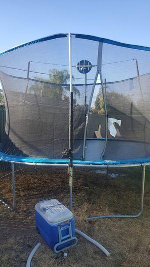 Trampoline (like new) for Sale in Fresno, CA