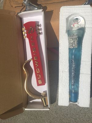 Beer draft equipment and Brand new tap handles for Sale in Orondo, WA