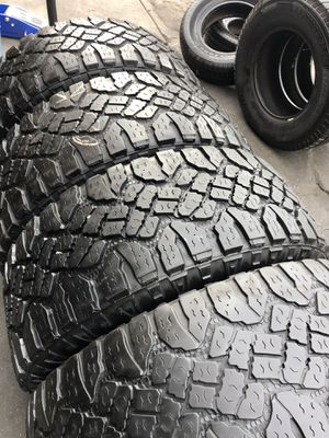 325/60R20 Good Year All terrain tires (4 for $340) for Sale in Santa Fe Springs, CA