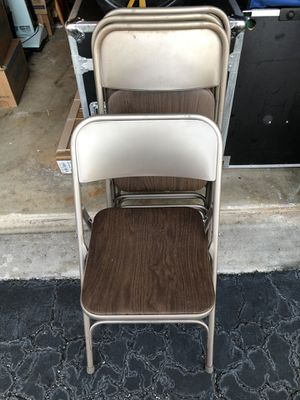 4- Folding Event Chairs for Sale in Margate, FL