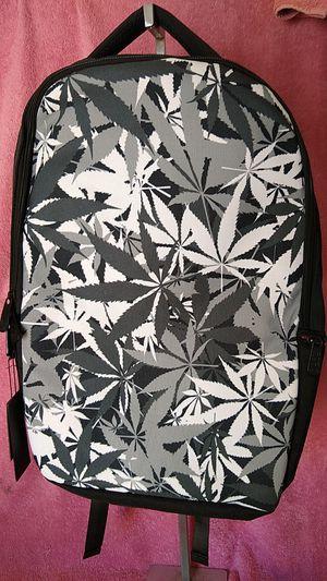 Black & White MJ Leaf Backpack -NEW for Sale in Las Vegas, NV