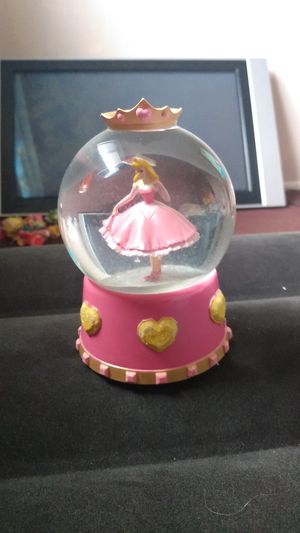 Disney Sleeping Beauty Music Snow Globe for Sale in Columbus, OH