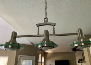 Kitchen island light and pendant light for Sale in Sugar Land, TX