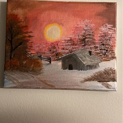 Cabin Painting for Sale in Forest Park,  GA