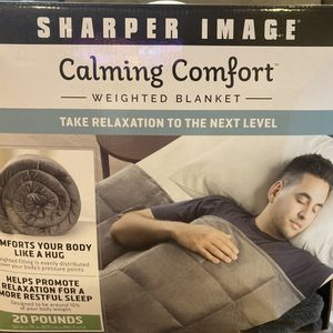 Weighted Blanket by Sharper Image for Sale in Rocky Hill, CT