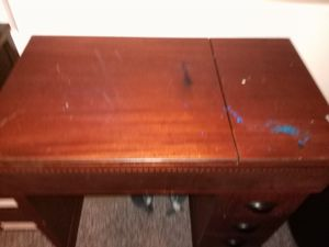 Solid wood desk- free for Sale in Marquette, MI