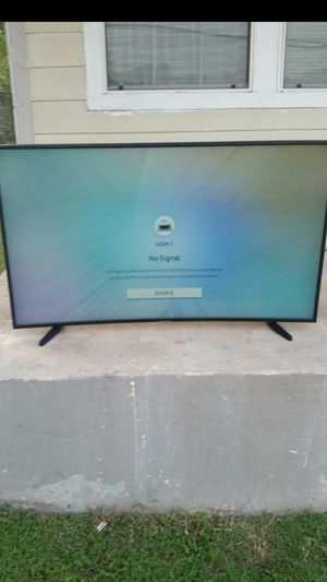 55INCH SAMSUNG 4K CURVED SMART TV for Sale in San Antonio, TX