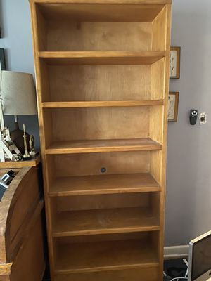 Solid wood bookshelves for Sale in Virginia Beach, VA
