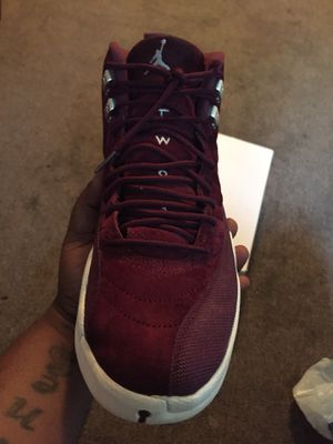 Burgundy Jordan 12s size 10 for Sale in Pittsburgh, PA