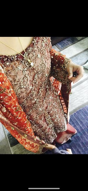 Pakistani wedding dress for Sale in Rockville, MD