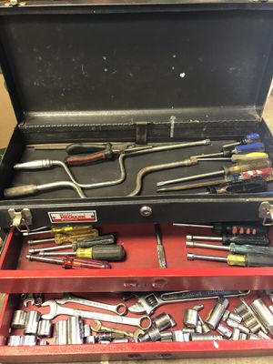 Tools, wrenches, sockets & screw drivers, some rusty but still usable for Sale in Phoenix, AZ