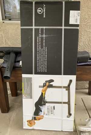 Exercise equipment - adjustable Marcy Roman chair for Sale in Rio Linda, CA