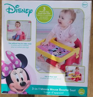 Minnie mouse booster seat for Sale in Portsmouth, VA