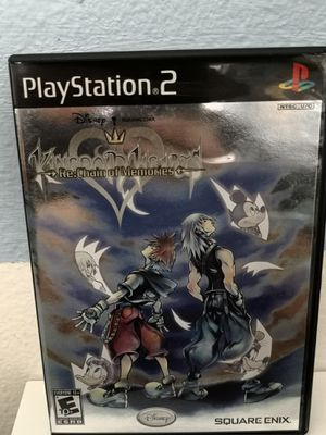 Kingdom Hearts Re Chain of Memories PlayStation 2 PS2 Complete for Sale in San Diego, CA