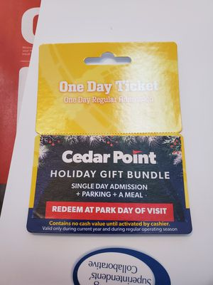Cedar point ticket for Sale in Independence, OH