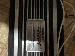 Kenwood Amplifiers for Sale in Chicago, IL