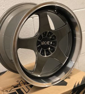 Brand new 17x9 XXR Gunmetal wheels 5x114.3 5x120 all 4 for Sale in Santa Fe Springs, CA