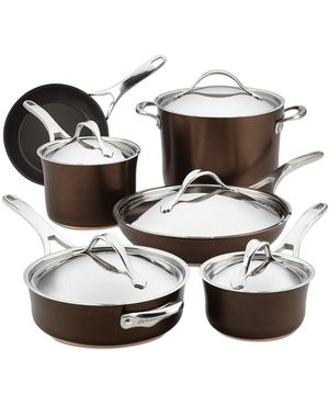 Brand new set - Anolon nouvelle hard anodized cookware set for Sale in West McLean, VA