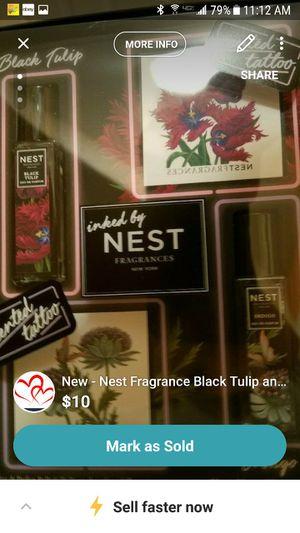New - Nest Fragrance Black Tulip and Indigo Rollerball set for Sale in Howell, NJ