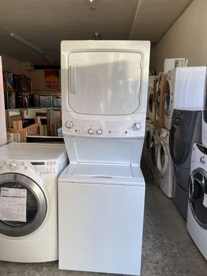 "Used, GE,24"" or 27"" stack washer& dryer, electric dryer , heavy duty, super capacity plus, for Sale in San Jose, CA"